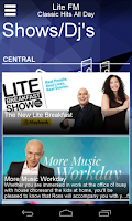 Screenshot of LiteFM