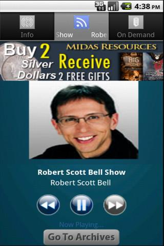 Robert Scott Bell Show - screenshot