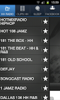Screenshot of HIPHOP RADIO