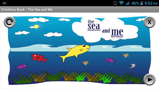 Childrens Book - The Sea Me