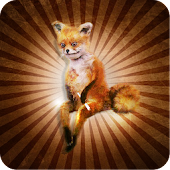 Cool fox - the taxidermy bug.