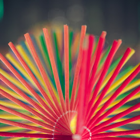 Round and round by Adit Lal - Abstract Patterns ( colour, wind, wood, chimes, toys, round, bokeh )