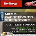 MMs OverstockedSuperStore logo