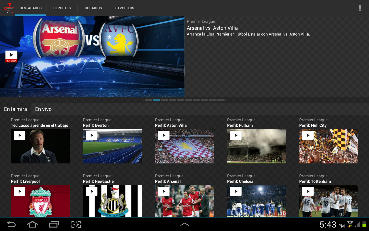 Deportes Telemundo En Vivo - screenshot