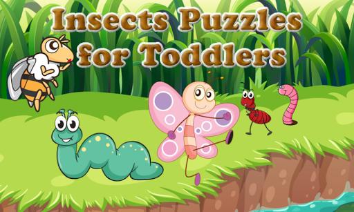 玩免費教育APP|下載幼儿和孩子们和小女孩的昆虫拼图 app不用錢|硬是要APP