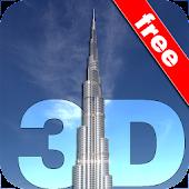 Burj Khalifa 3D Wallpaper FREE