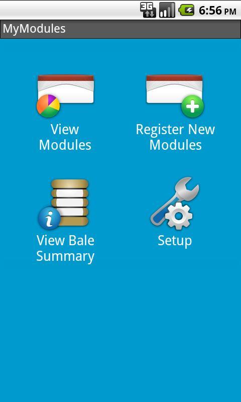 MyModules- screenshot
