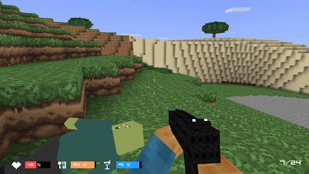 Cube Gun 3D : Zombie Island 1.0 screenshot 44148
