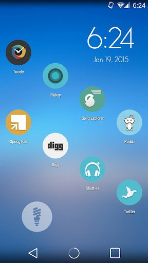JustNice Flat Round Icon Pack
