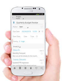 IQTELL Email app and GTD® Screenshot 5