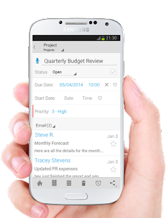 IQTELL Email app and GTD®- screenshot thumbnail
