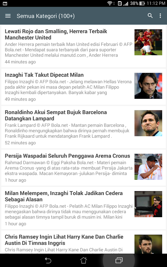 berita bola   android apps on google play