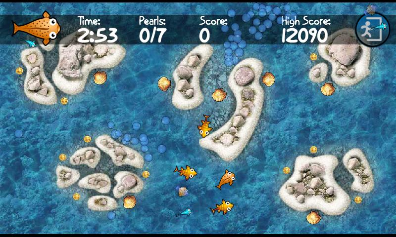 Frenzy Fugu Fish- screenshot