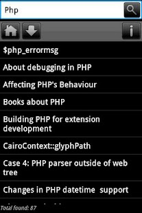 Dev Pocket Reference - PHP - screenshot thumbnail