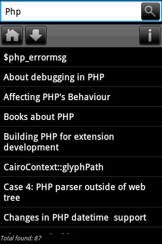 Dev Pocket Reference - PHP - screenshot