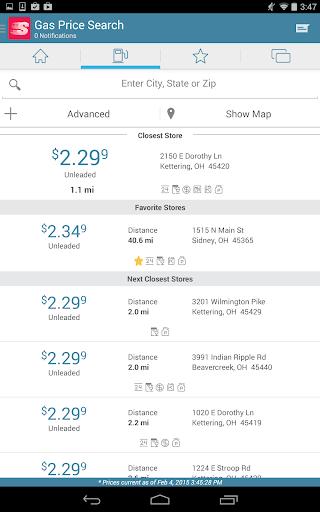 Speedway Fuel & Speedy Rewards Screenshot