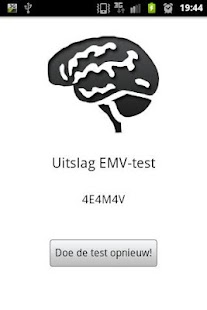 EMV Score- screenshot thumbnail
