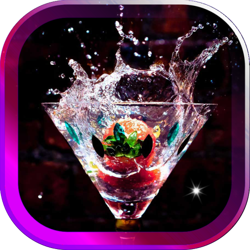 Cool Drinks live wallpaper LOGO-APP點子