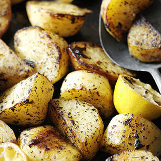 Greek Lemon Roast Potatoes