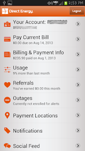 Direct Energy Account Manager - screenshot thumbnail