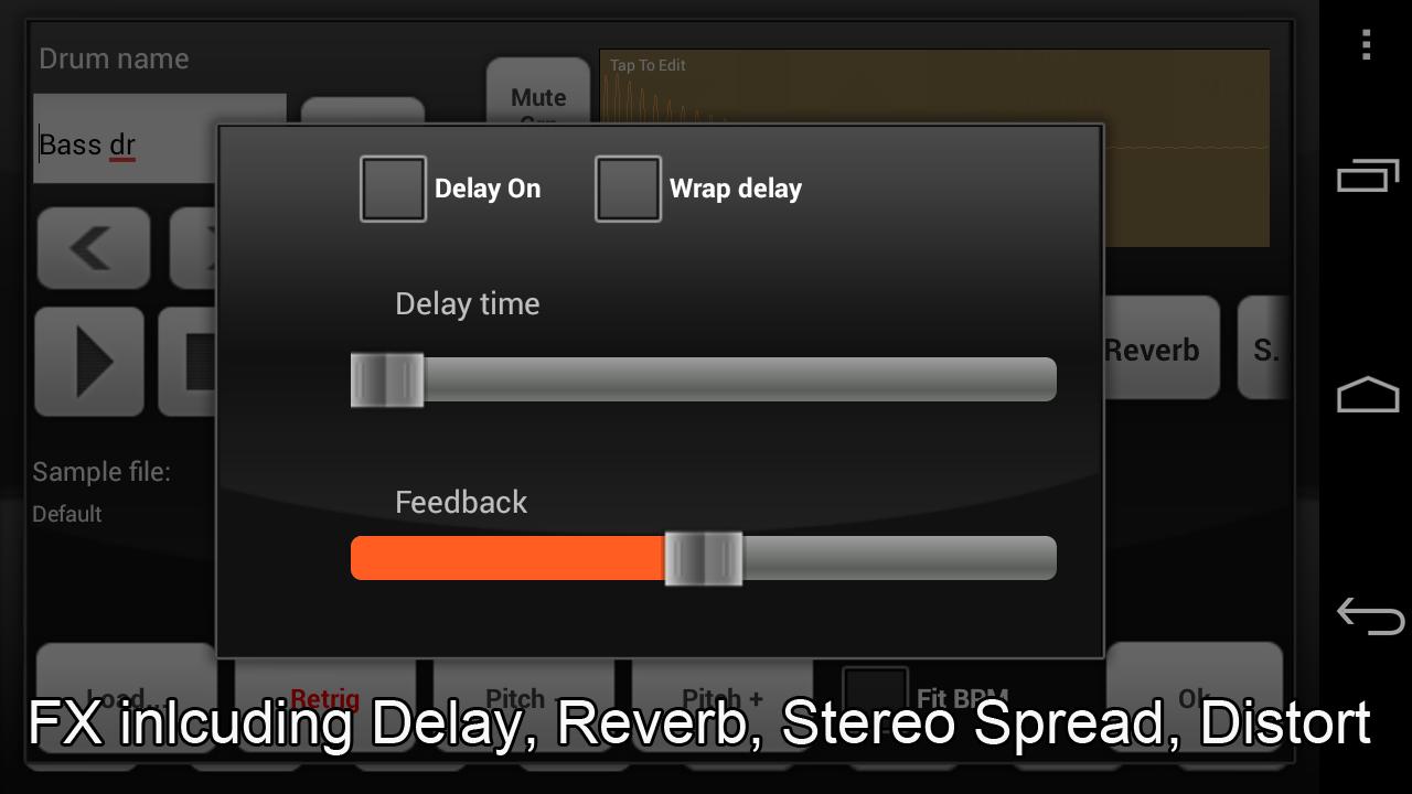 Electrum Drum Machine/Sampler screenshot #4