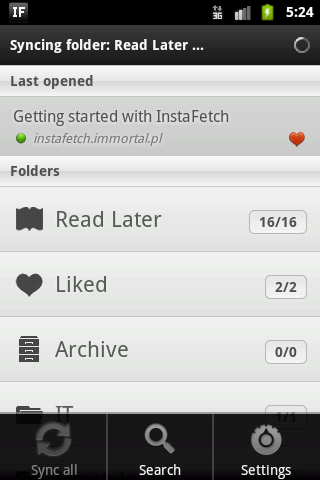 InstaFetch PRO - screenshot