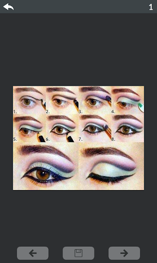 Eyes makeup step by step 4