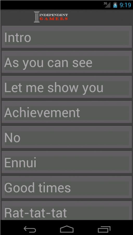 INDgamers Soundboard - screenshot
