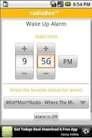 Screenshot of radioBee Lite - radio app