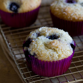 My Favorite Blueberry Muffins