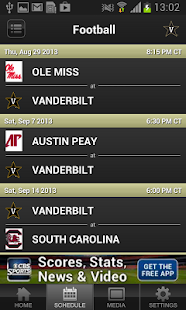 Vanderbilt Athletics - screenshot thumbnail