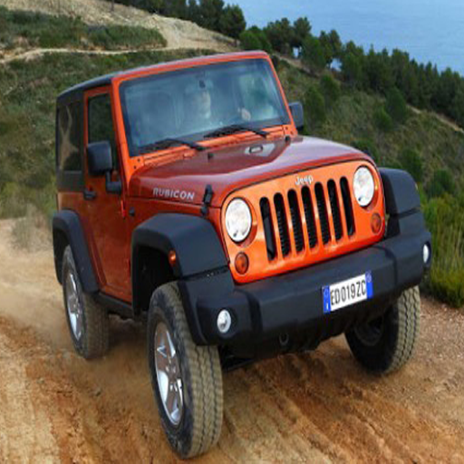 3D Most Wanted Jeep Racer