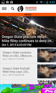 OregonLive: OSU Football News - screenshot thumbnail