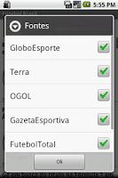 Screenshot of Futebol Brasil