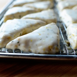 Lemon Rosemary Scones.