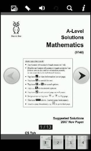 2007N AL Solutions Mathematics