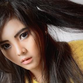 by Posh Art - People Portraits of Women ( #ika #tiara #posh #art #poshart #modeling #model )
