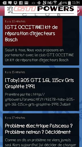 Club GTIPOWERS 205 GTI  screenshots 3