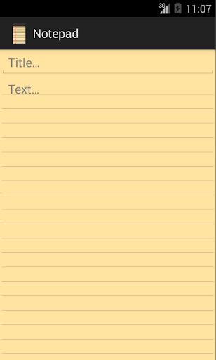 【免費工具App】Notepad-APP點子