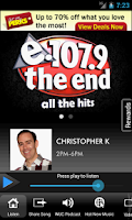 Screenshot of 107.9 The End