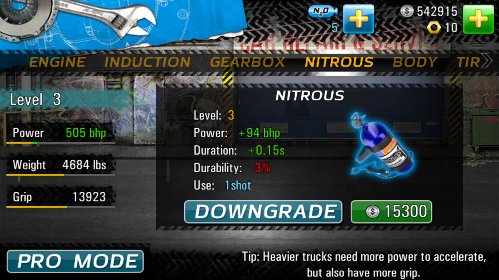 Drag Racing 4x4 - screenshot