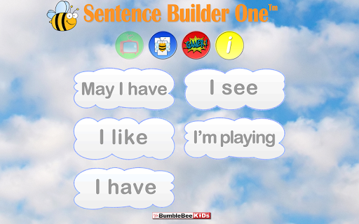 Sentence Builder 1 Flashcards
