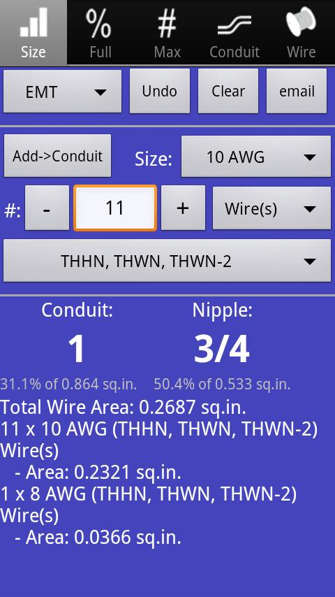 EWP 2011 Electrical Wiring Pro - screenshot