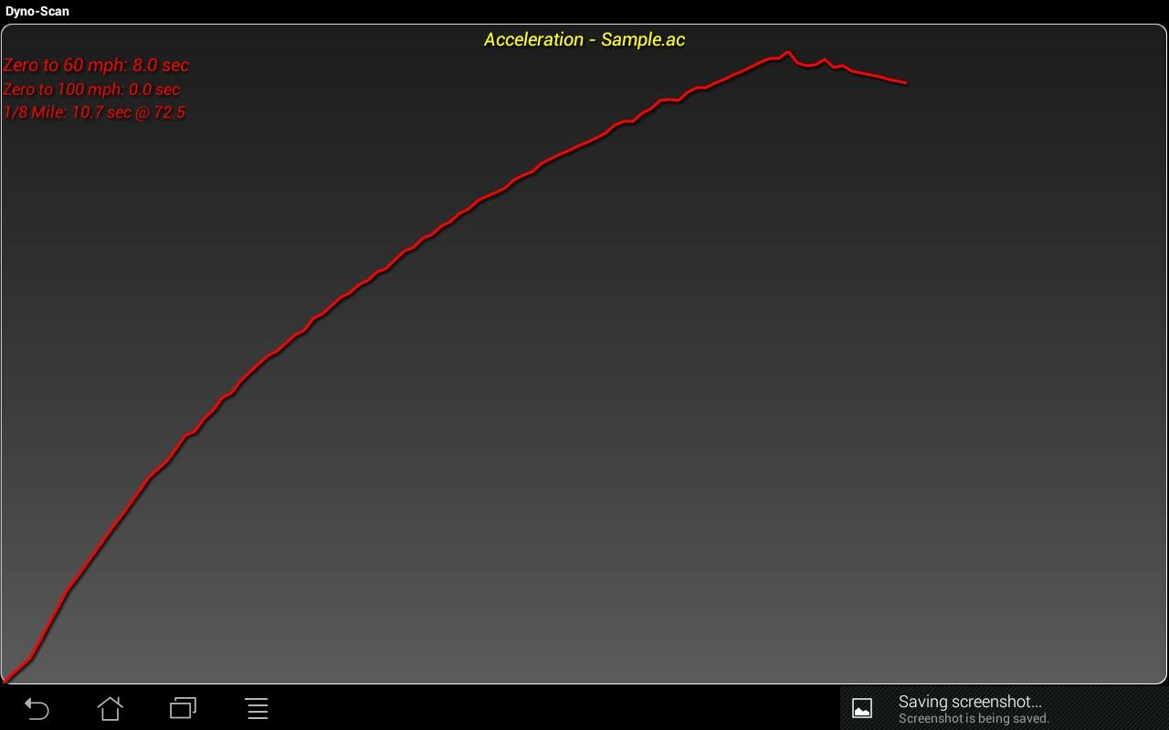 Dyno-Scan (OBD II Scan Tool)- screenshot
