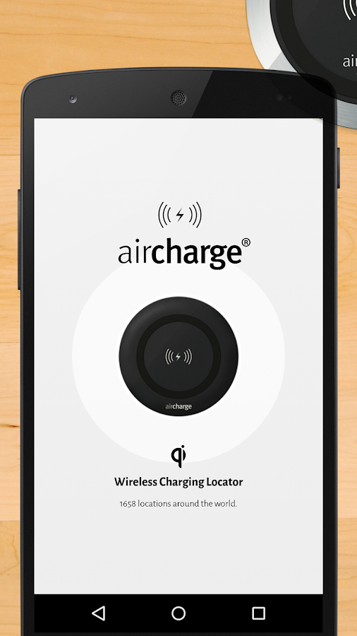 Aircharge Qi Wireless Charging- スクリーンショット