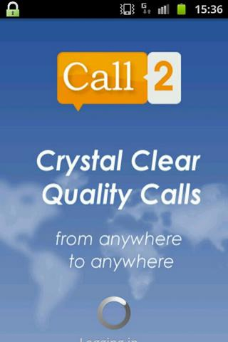 Call2: High Quality Calls - screenshot