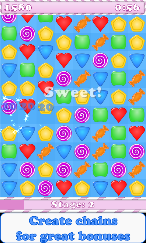 Candy & Jewels - screenshot