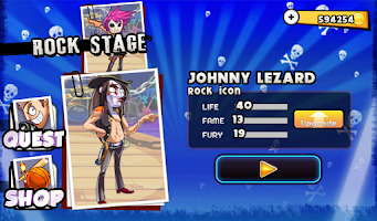 Screenshot of Rock Stars vs. Paparazzi