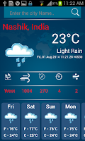 Screenshot of Check Weather