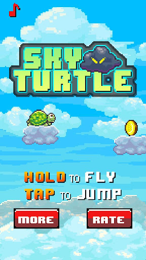 Sky Turtle Impossible Game